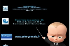 Genet Poker Open 2017 - Informations Pratiques